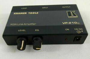 Kramer VP-210XL XGA Line Amplifier  Envoi rapide et suivi
