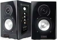 "Professional 400W 5"" Active/Powered Studio Monitor Speakers Bluetooth/USB/SD/FM"
