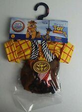 Rubie's Disney Toy Story 4 Sheriff Woody Pet Costume XS Shirt Bandana Hat