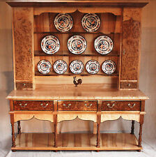 Welsh Dresser Handmade in Wales,Montgomery, open pot board,  superb quality