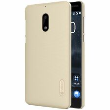 Nokia 6 Case, Nillkin Brand Super Frosted Shield Case Cover for Nokia 6