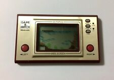 USED Nintendo Game & Watch OCTOPUS JAPAN GW G and W import Japanese