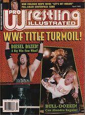Pro Wrestling Illustrated April 1995 Kevin Nash, Hulk Hogan VG 020316DBE