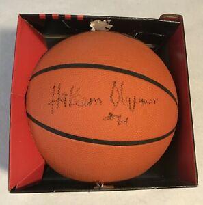 Hakeem Olajuwon Autographed Spalding Basketball