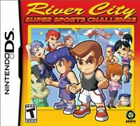River City Super Sports Challenge Nintendo DS Brand New