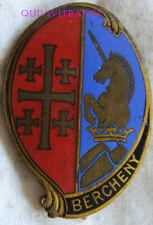 IN13757 - INSIGNE 1° Régiment de Hussards Parachutistes, BERCHENY , dos lisse