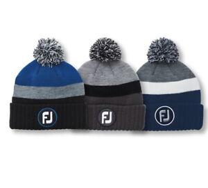 FootJoy Pom Pom Winter Beanie Golf Hat New 2021 - Choose Color