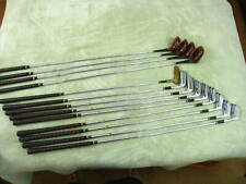 Wilson SAM SNEAD Signature Vintage golf clubs, 1-4 wood, 2-9 iron, putter