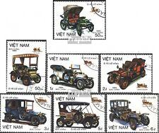 Vietnam 1494-1500 (kompl.Ausg.) gestempelt 1984 Alte Autotypen EUR 3,20