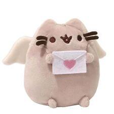 """Pusheen the cat cupidon peluche officiel gund 4"""" st-valentin plushie soft cuddly toy"""