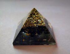 Reiki ENERGÍA CARGADO Turmalina Negra Generador De Energía Orgón Pirámide Potente