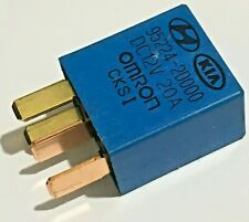 Hyundai & Kia (00-16) Multi-Use 4-Pin Blue Relay Omron 95224-2D000 12V 20A