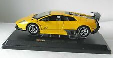 MURCIELAGO LP 670-4 SV DIE-CAST METAL MODEL CAR by BURAGO SCALE 1:24, NEW