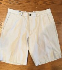 Men's Perry Ellis Polka Dot Casual Khaki Shorts Sz 34 Formal Preppy Summer