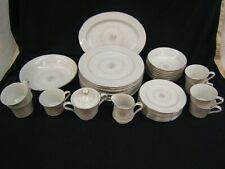Nasco Japan Sweet Afton Dinnerware Service for 8 w/ Serving Pieces 36 Piece Lot