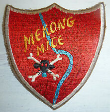 Flight Patch - USAF - MEKONG MICE - 25th TFS - NVN OPS - Vietnam War - 0182