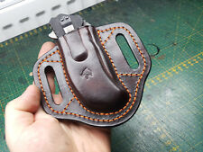 Leather pancake sheath for Zero Tolerance ZT0300,301,302, 0200, 0350 and 0560