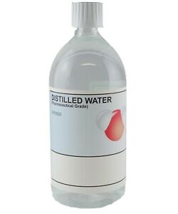 Distilled Water Pharmaceutical Grade (PET) 1L/1000ml Pure Water
