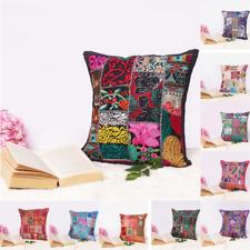 Vintage Cushion Cover Home Decor Pillow Case Patchwork Sofa Throw Pillow Cover
