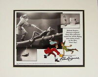 Disney Autographed Peter Pan Captain Hook Photo Signed By Roland Dupree