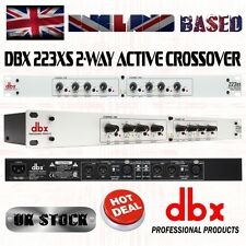 dbx 223XS Stereo 2-Way/Mono 3-Way Crossover with XLR Connectors