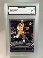 Gem Mint 10: 2019 Lebron James, Panini Chronicles  Basketball Card #176, Lakers
