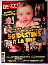DETECTIVE du 2/01/2013; 50 destins à la une histoire noires ou souriantes