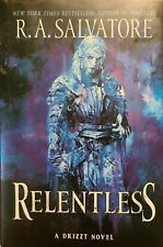 Relentless, Hardcover by Salvatore, R. A., Like New Used, Free shipping