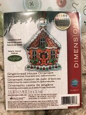 Dimensions - Gingerbread House Ornament - Counted Cross Stitch