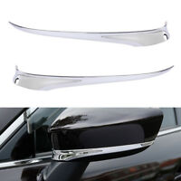 1Pair Chrome Rearview Wing Side Mirror Cover Trim Fit Mazda 6 Atenza 2014-2017