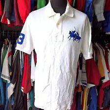 WHITE POLO SHIRT #3 RALPH LAUREN JERSEY SIZE ADULT XL