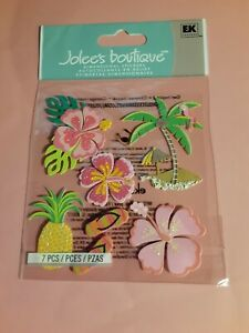 Jolee's Boutique Hawaiian 3D sticker pkg(free ship $20 min US ONLY