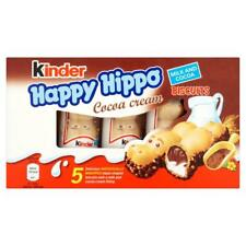 KINDER HAPPY HIPPO CHOCOLATE BISCUIT BARS - 30 Bars Bargain Price