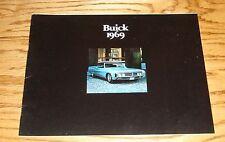 Original 1969 Buick Full Line Sales Brochure 69 Electra Wildcat GS-350 GS-400