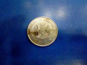 UGANDA COIN FIVE SHILLING 1968   #AT924