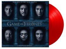 GAME OF THRONES SEASON 6 (RAMIN DJAWADI) - OST - 2LP / Red Vinyl - MOV 2018