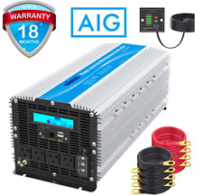 Power Inverter Modified Wave 5000W/10000W, 12V DC to 110v-120V AC, RemoteControl