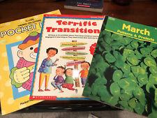 Lot Of 16 Preschool-1st Grade Education Books And Workbooks