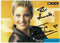 Tanja Schumann - original signierte Autogrammkarte - hand signed
