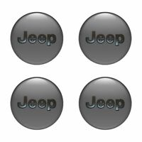 4 x 75 mm Jeep Aufkleber Nabendeckel-Hengeldeckel,Radkappe,center hub