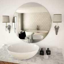 vidaXL Specchio da Parete 70cm in Vetro Circolare - Argento (245705)