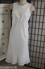 Robe lin et coton RENÉ DERHY taille M dos coupe originale Y7191