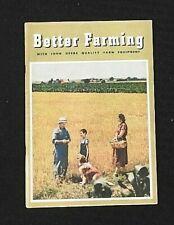 1950 JOHN DEERE Better Farming FULL-LINE CATALOG A B G D AR R AO MC M MT TRACTOR