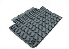 Audi Grey Rubber Rear All Weather Floor Mats for Audi Q7 Set of 2 OEM Unopened