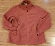 10,000 Ft Above Sea Level Womans Small Dark Salmon Jacket