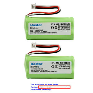 Kastar CT11 CT14 Battery Replace for Plantronics 81087-01 Cordless Headset Phone
