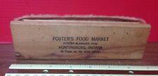 Vintage Advertising  Foster's Food Market Huntingburg, Indiana