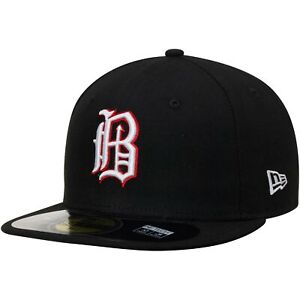 Birmingham Barons New Era Authentic Home 59FIFTY Fitted Hat - Black
