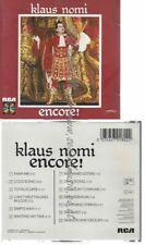 CD--KLAUS NOMI--ENCORE