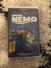 Vhs New Sealed Disney Pixar Finding Nemo